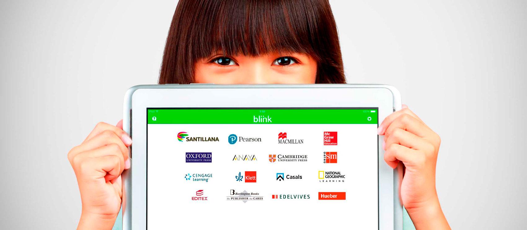 Más de 80 editoriales disponibles en el catálogo digital de BlinkLearning